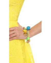 Venessa Arizaga - Multicolor Summer Vacation Bracelet - Lyst