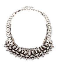 DANNIJO - Metallic Scott Crystal Collar Necklace - Lyst
