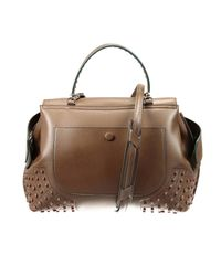 Tod's - Brown Handbag - Lyst