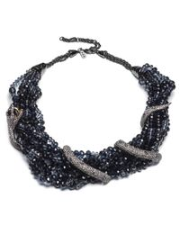 Alexis Bittar | Black Multi Strand Serpent Wrap Bib Necklace You Might Also Like | Lyst