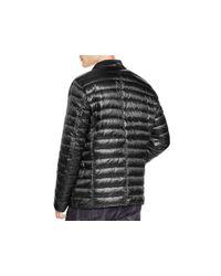 Duvetica Gray Polaridue Quilted Blazer Jacket