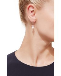 Dana Rebecca - Metallic Rose Gold Remi Florence Pink Quartz Earrings - Lyst