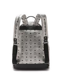 MCM Metallic Stark Backpack for men