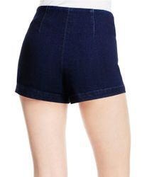 Jessica Simpson | Blue High-waist Shorts | Lyst