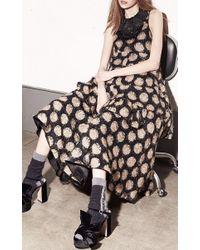 N°21 - Black Short Dress - Lyst