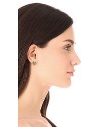 Alexis Bittar - Metallic Mosaic Kiwi Cluster Stud Earrings - Lyst