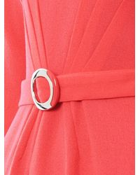 Goat Pink Scarlett Pleatfront Dress