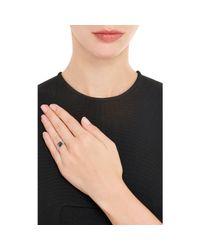 Monique Pean Atelier | Metallic Rose-cut Black Diamond & Platinum Ring | Lyst