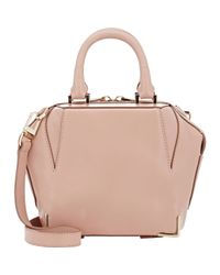 Alexander Wang - Pink Emile Mini Leather Shoulder Bag - Lyst