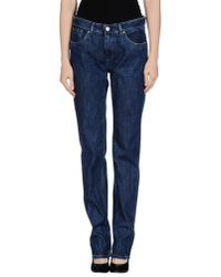 Seal Kay - Blue Denim Trousers - Lyst