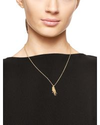 kate spade new york - Metallic Like A Charm Rock Paper Scissors Necklaces (set Of Three) - Lyst
