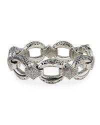 Konstantino - Metallic Sterling Silver Link Bracelet - Lyst