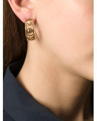 Marc By Marc Jacobs - Metallic Symbols Half-Hoop Earrings - Lyst