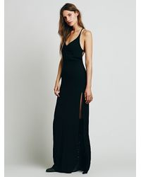 Free People - Black Flynn Skye Womens Saturdaze Dress - Lyst