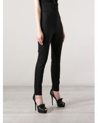 Dolce & Gabbana Black High Waisted Trousers