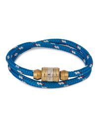 Miansai | Casings Blue Rope Wrap Bracelet for Men | Lyst