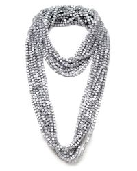 Jianhui Metallic Ten Strand Multiway Necklace