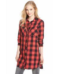 Caslon - Multicolor Caslon Two-pocket Tunic Shirt - Lyst