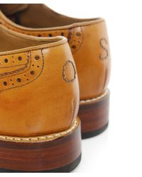 Oliver Sweeney | Brown Leather Aldeburgh Brogues for Men | Lyst