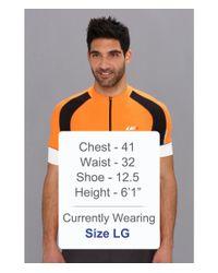 Louis Garneau Orange Lemmon Vent Jersey for men