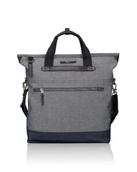 Tumi - Gray 'dalston - Perch' Backpack Tote for Men - Lyst