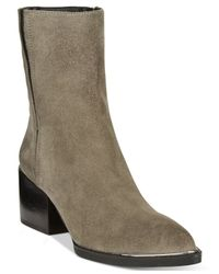 Circus by Sam Edelman | Gray Raylan Booties | Lyst