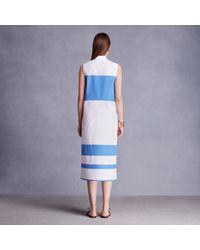 Trademark | White Coperta Stripe Dress | Lyst