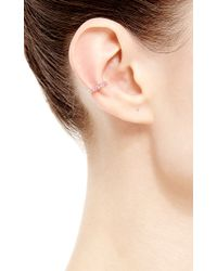 Paige Novick - Metallic Single Arc En Ciel Wishbone Ear Cuff - Lyst