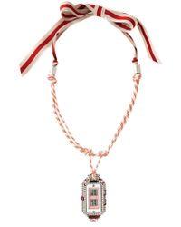 Lanvin | Natural Watch Pendant Necklace | Lyst