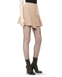 Alexander Wang | Natural Flared Mini Skirt | Lyst
