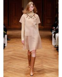 Dorothee Schumacher | Natural Techno Sheer Skirt | Lyst