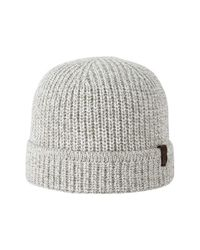 True Religion | Gray Knit Watchcap for Men | Lyst