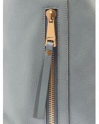 Chloé - Blue Dilan Leather Shopper - Lyst