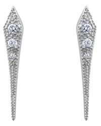 V Jewellery | Metallic Mythos Dagger Earrings | Lyst