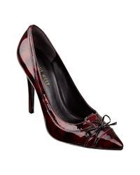 Nine West | Black Carnation Platform Sandals | Lyst