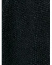Woolrich Black Raglan Sleeve Straight Fit Jacket