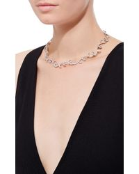 Gioia - Metallic Wave Necklace - Lyst