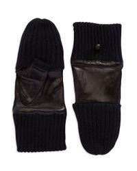 Carolina Amato   Black Poptop Gloves   Lyst