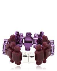 EK Thongprasert Purple Automobile Bracelet