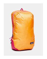 Patagonia - Orange Lightweight 15L Backpack - Lyst