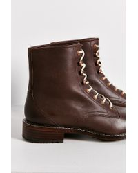 Woolrich | Brown Deadeye Lace-up Boot | Lyst