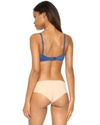 Calvin Klein - Blue Perfectly Fit T-shirt Bra - Aurora - Lyst