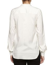 Stella McCartney - Natural Long-sleeve Striped Shirt - Lyst