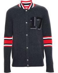 Givenchy Gray Classic Teddy Jacket for men