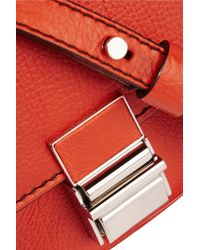 Proenza Schouler | - Kent Tiny Textured-leather Shoulder Bag | Lyst