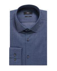 BOSS Blue 'jenno'   Slim Fit, Italian Cotton Dress Shirt for men