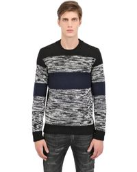 Dolce & Gabbana Black Cotton Top With Embellishment for men