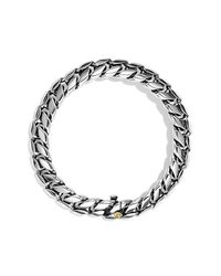 David Yurman - Metallic Curb Chain Narrow Bracelet for Men - Lyst