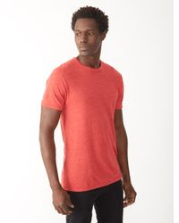 Alternative Apparel | Orange Eco-jersey Crew T-shirt for Men | Lyst