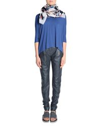 Dorothee Schumacher | Blue Spotted O-neck 3/4 | Lyst